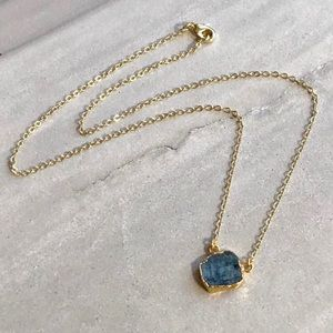 Dainty Raw Sulemani Gemstone Necklace